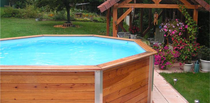 Piscine hors sol installation aquadouce services for Travaux piscine